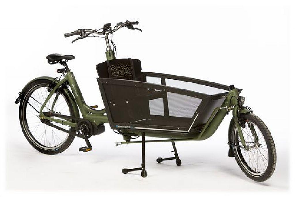 Bakfiets.nl Shadow Step Elektrische 7 versnellingen met Hydraulische velgremmen