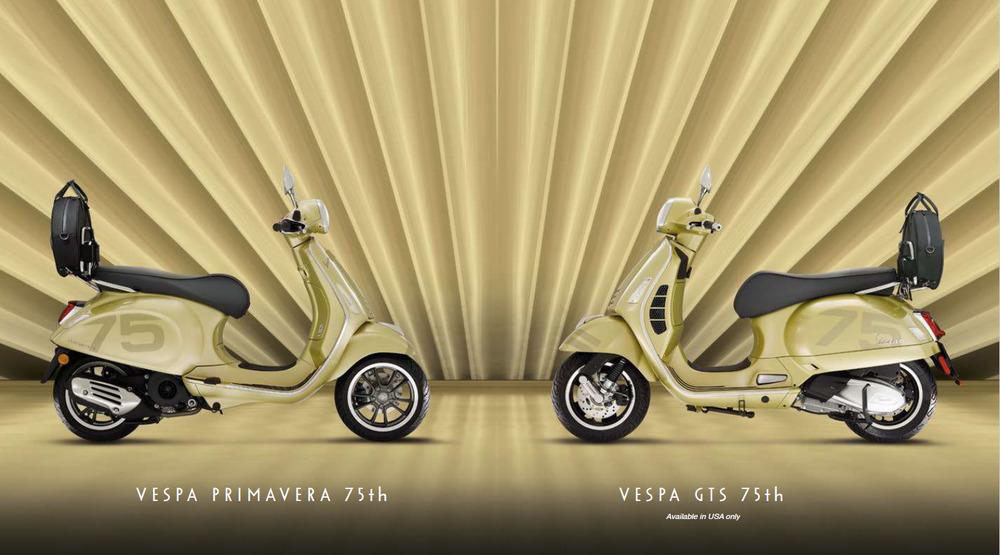 Vespa Primavera 75 jaar uitvoering