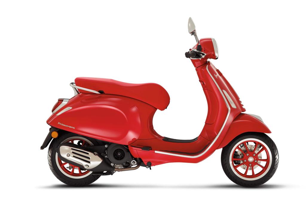 Vespa Primavera  Special RED
