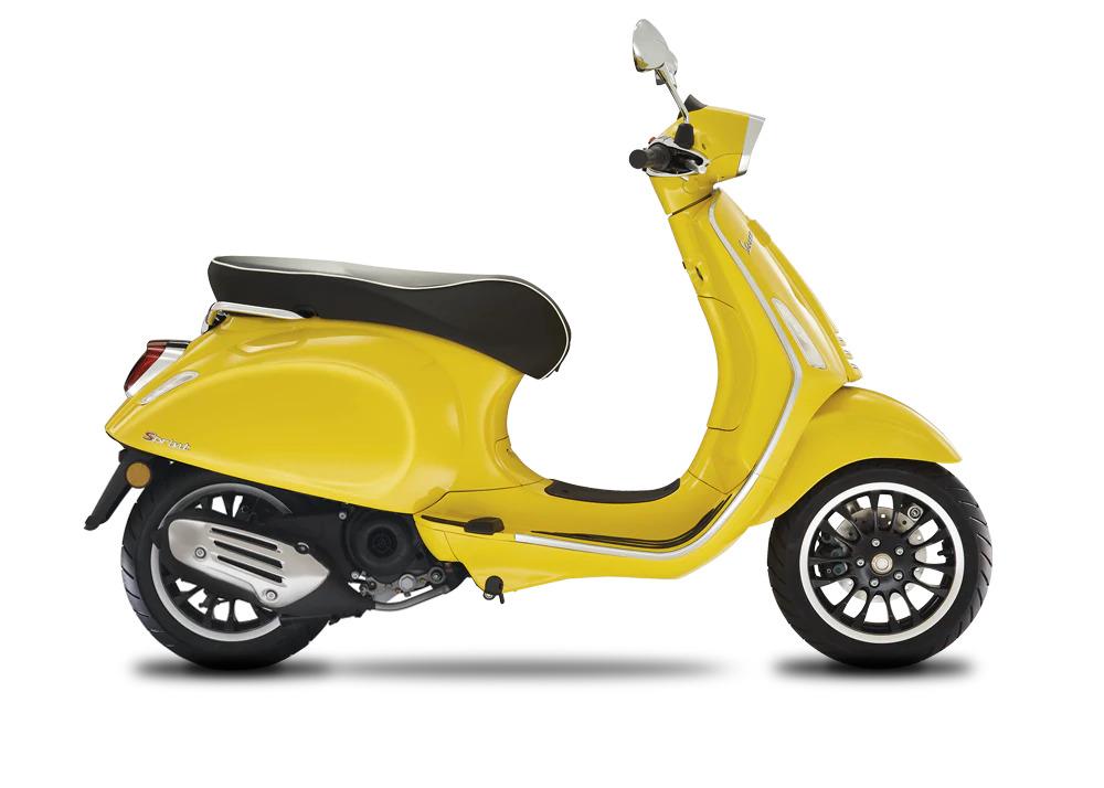 Vespa Sprint 50 in 4 kleuren verkrijgbaar 4T 2V 25Km euro 5