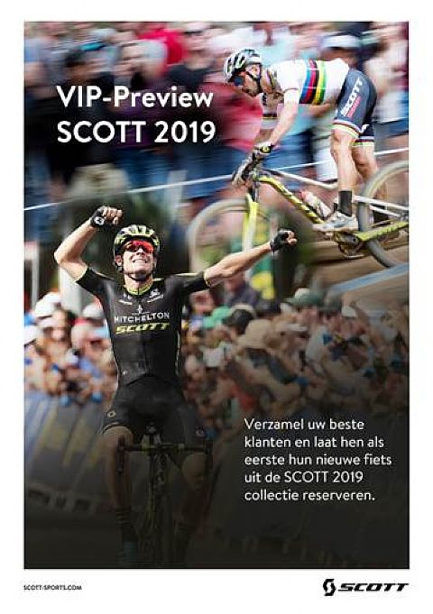 Scott VIP-avond op donderdag 28 juni.